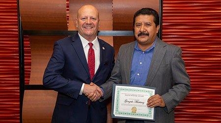 Gwinnett Technical College Names Gonzalo Martinez 2020 EAGLE Winner