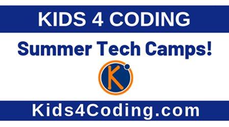 Kids 4 Coding Returns to Gwinnett Tech this Summer
