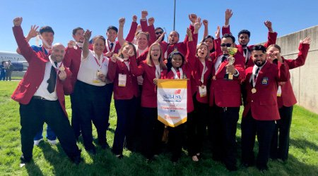 Gwinnett Tech Students Earn 41 Medals at State SkillsUSA Competition