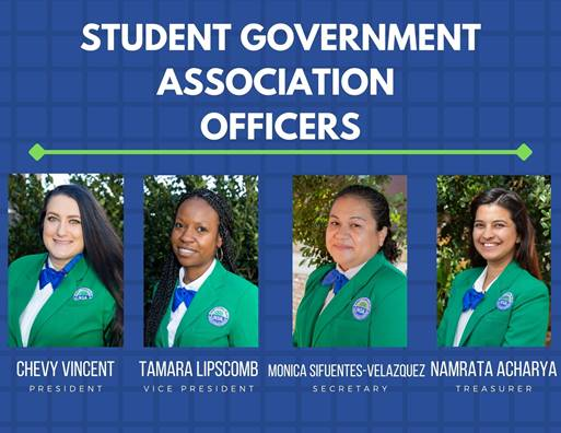 student government officers