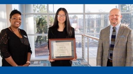 Alpharetta Resident Named as Gwinnett Tech's GOAL Student for 2020-2021