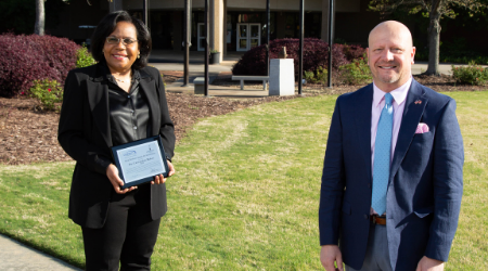 Gwinnett Technical College Names Dr. Cassandra Baker Rick Perkins Instructor of the Year