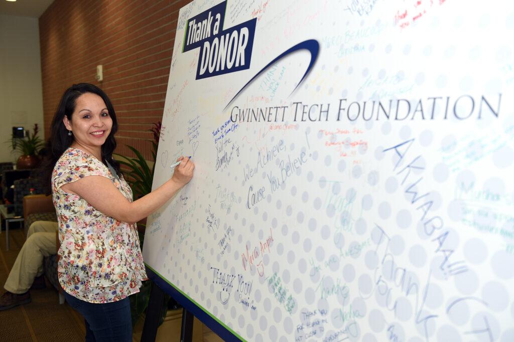 Gwinnett Tech Foundation - Thank a Donor