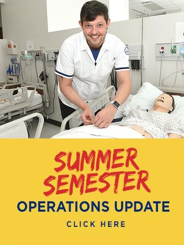 Summer semester operations update
