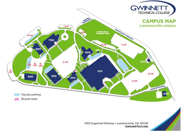 GTC Lawrenceville Map